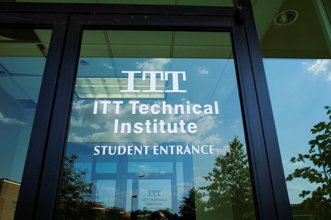 Entrance to ITT Technical Institute