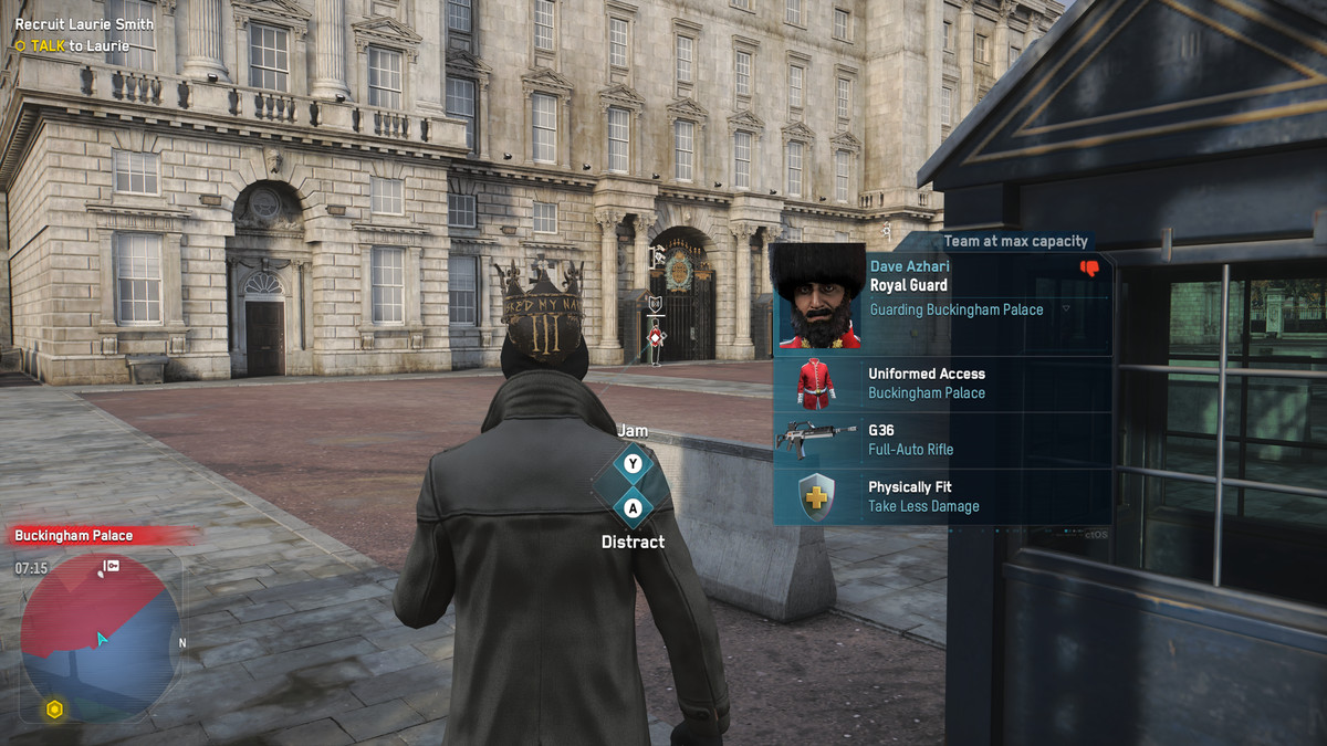 Watch Dogs: Legion Uniformed Access and Restricted Areas guide