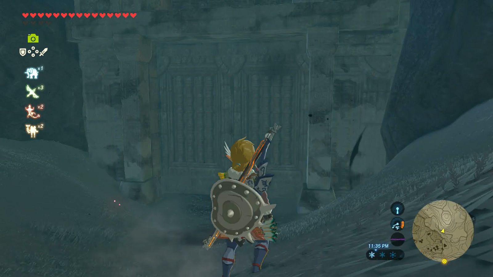 Zelda Breath Of The Wild Schrein Karte.Zelda Breath Of The Wild Guide To Quomo Shrine Location