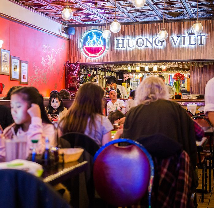 A Busy Night At Huong Viet In Eden Center Photo By Rey Lopez For Eater DC