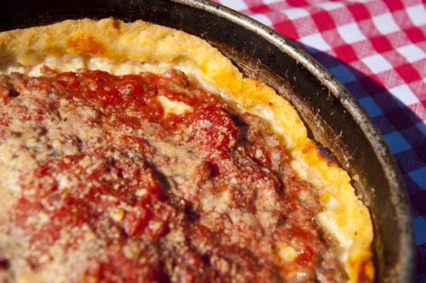 Lou Malnati's Pizzeria returns to the Taste this year with a selection of their classic pizzas.