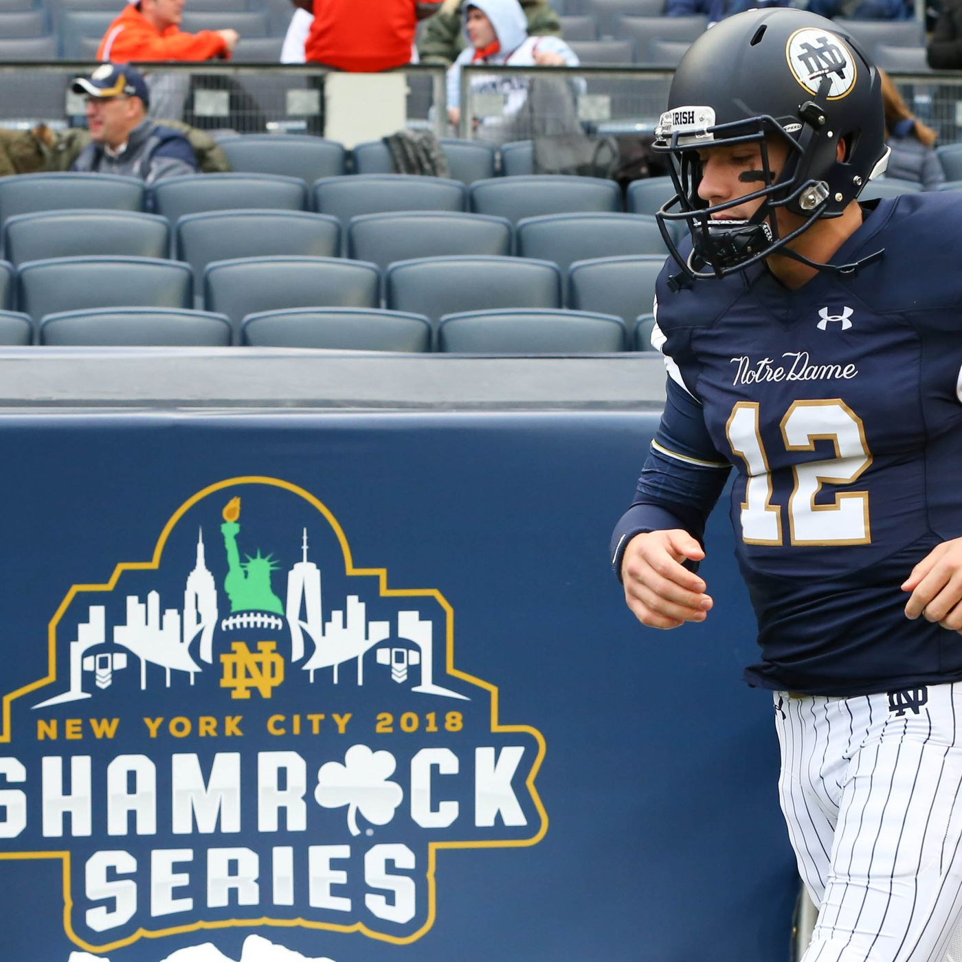 Notre Dame S Yankees Uniforms Might Be Even More Hated Than Expected Sbnation Com