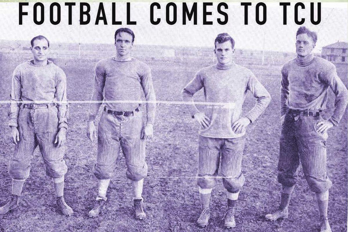 "TCU Press publishes ""Riff, Ram, Bah, Zoo! Football Comes to TCU"" this fall."