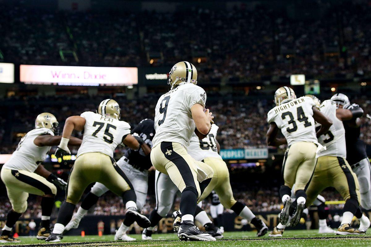 NFL Week 2: Monday Night Football New Orleans Saints vs Las Vegas Raiders -  Hogs Haven