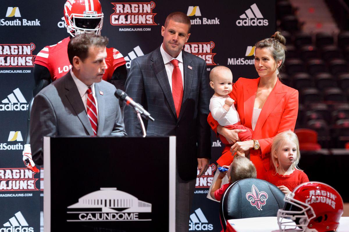 NCAA Football: Louisiana-Lafayette Press Conference