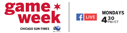 Sun-Times Game Week is LIVE every Monday at 4:30pm on Facebook and the Sun-Times high school sports website.