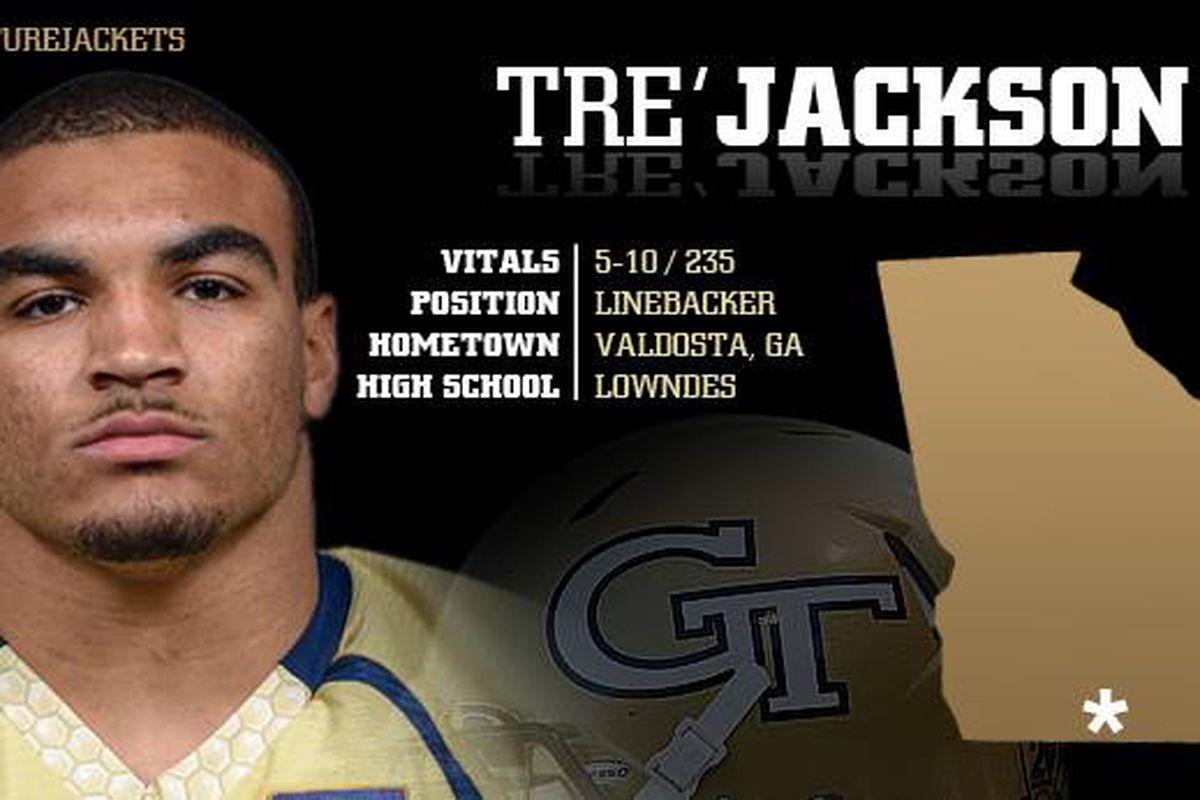 Georgia Tech Yellow Jackets Recruiting: Meet Tre Jackson ...