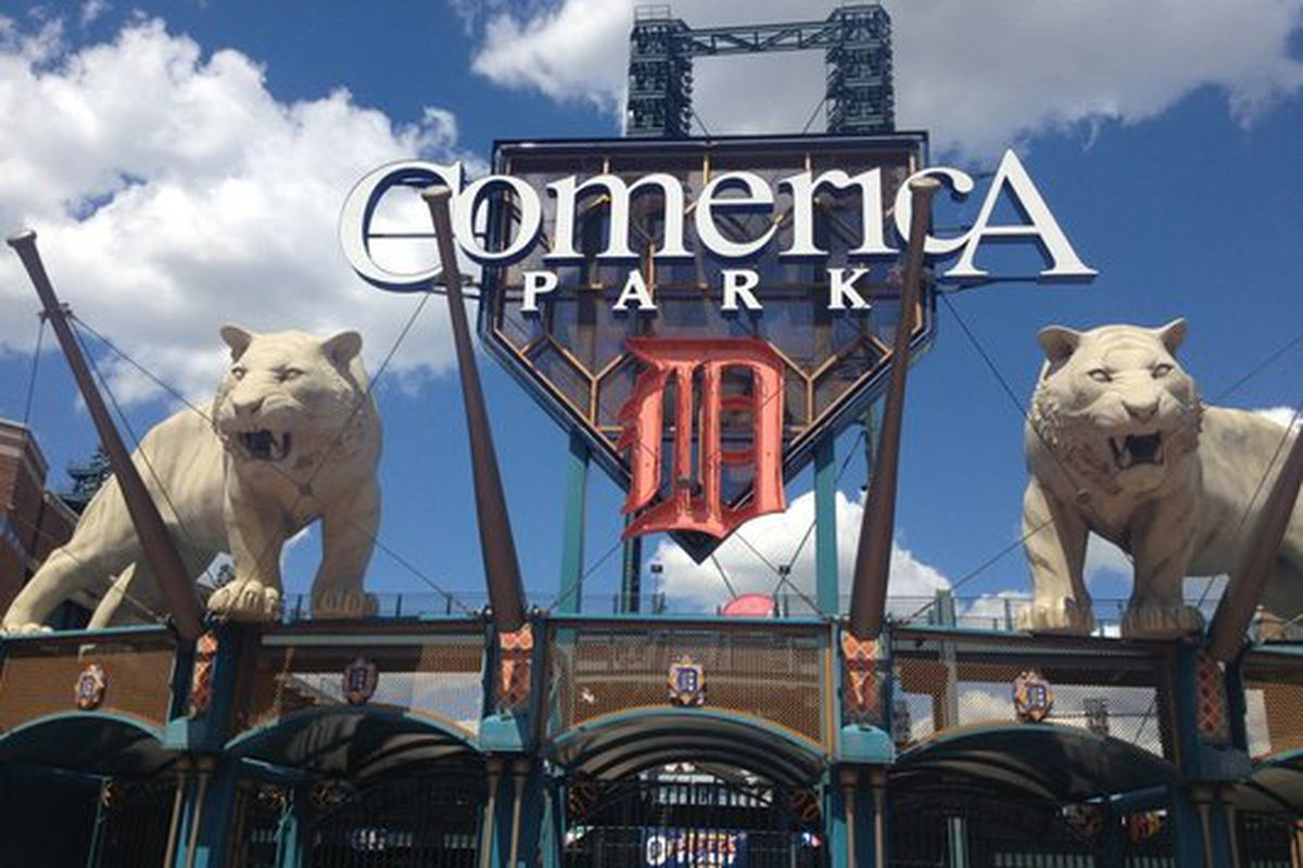 Mexican Food By Comerica Park