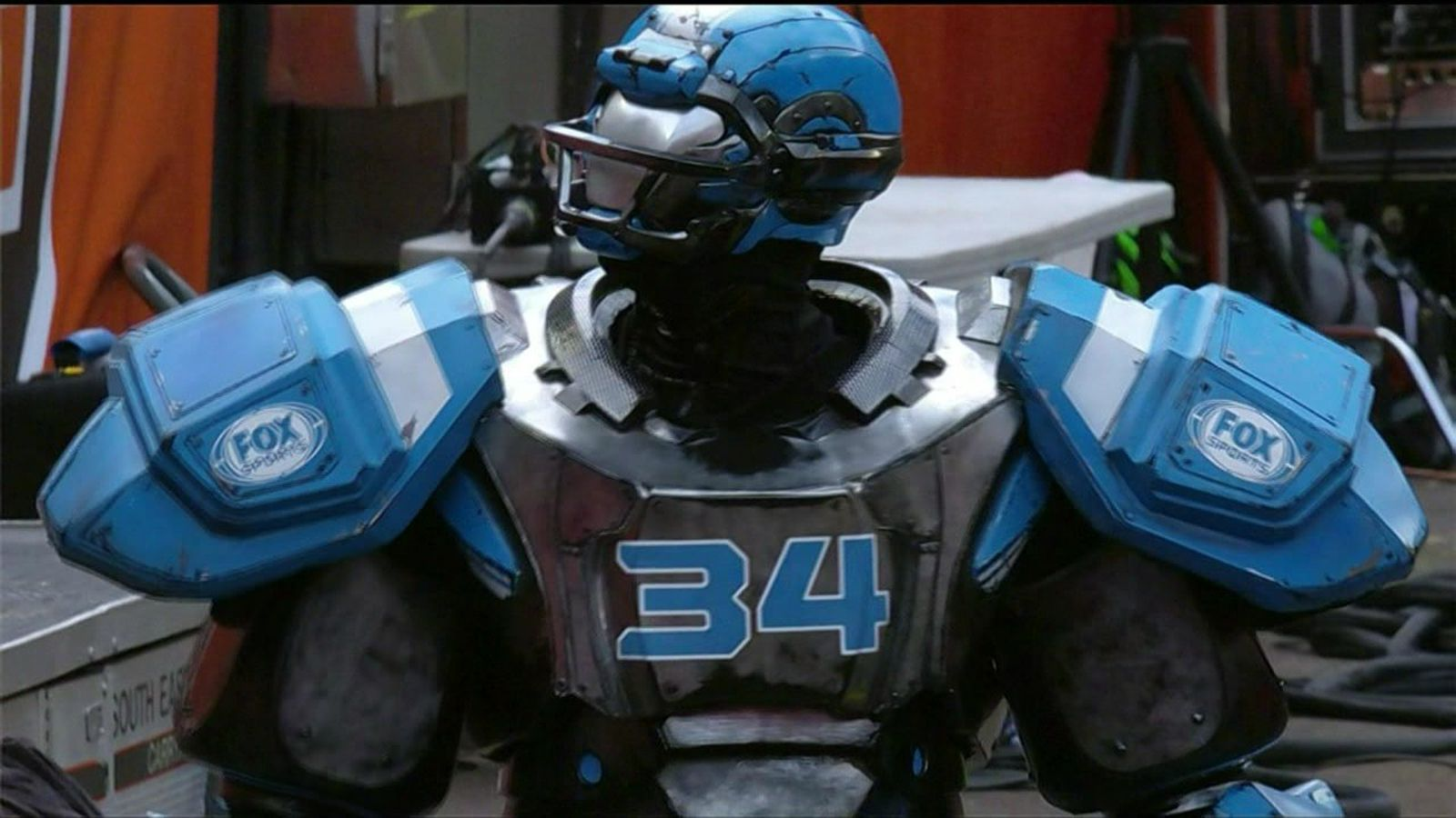 Real-life 'Cleatus' mascot is here, is terrifying