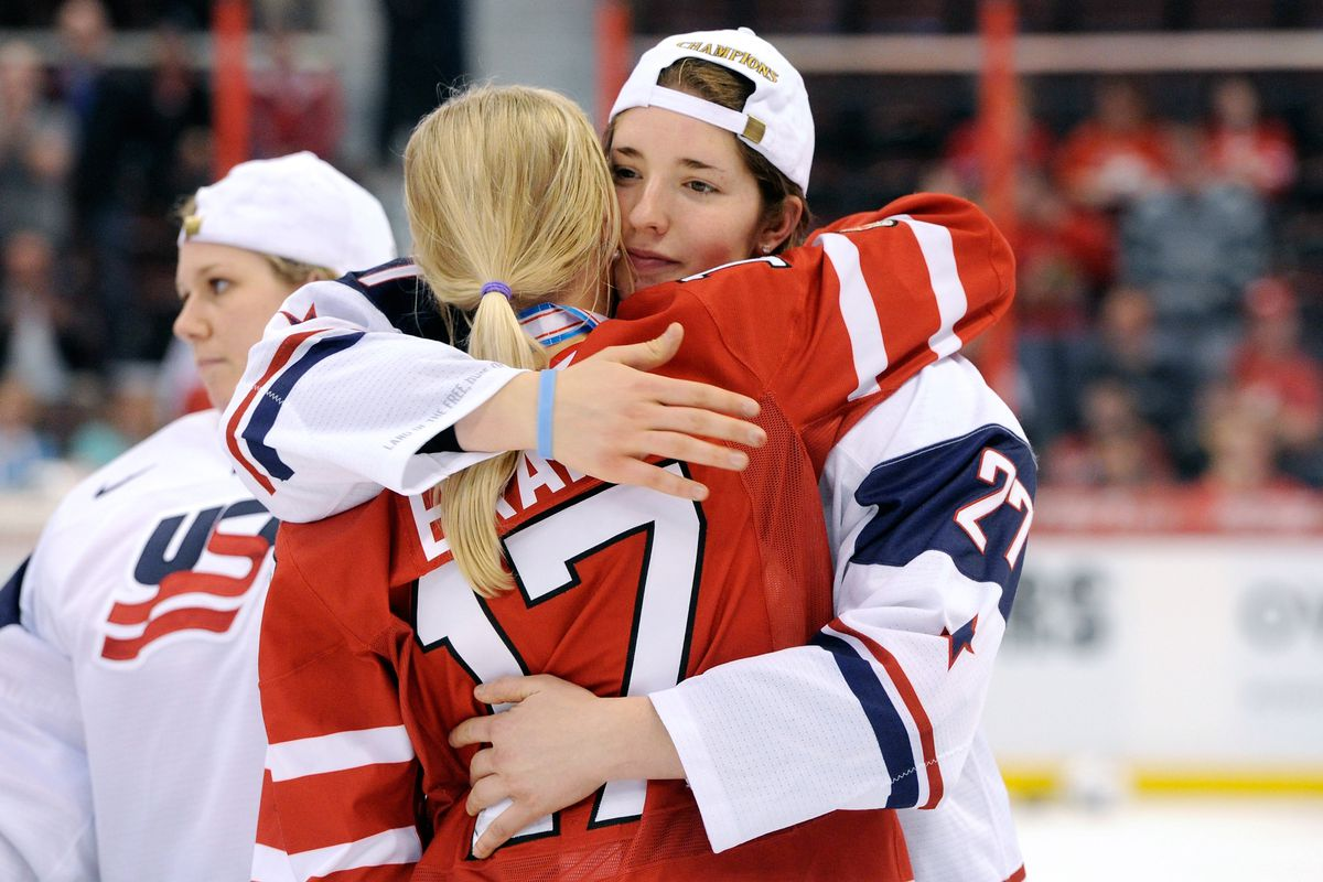 2013 IIHF Women's World Championship - Gold Medal Game - Canada v USA