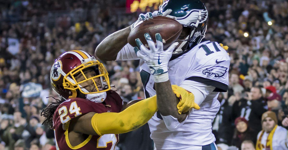 7b635bf7 Eagles vs. Redskins Final Score: Philadelphia shuts out Washington ...