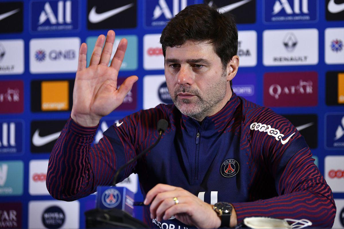 Mauricio Pochettino - Paris Saint-Germain Training & Press Conference - UEFA Champions League
