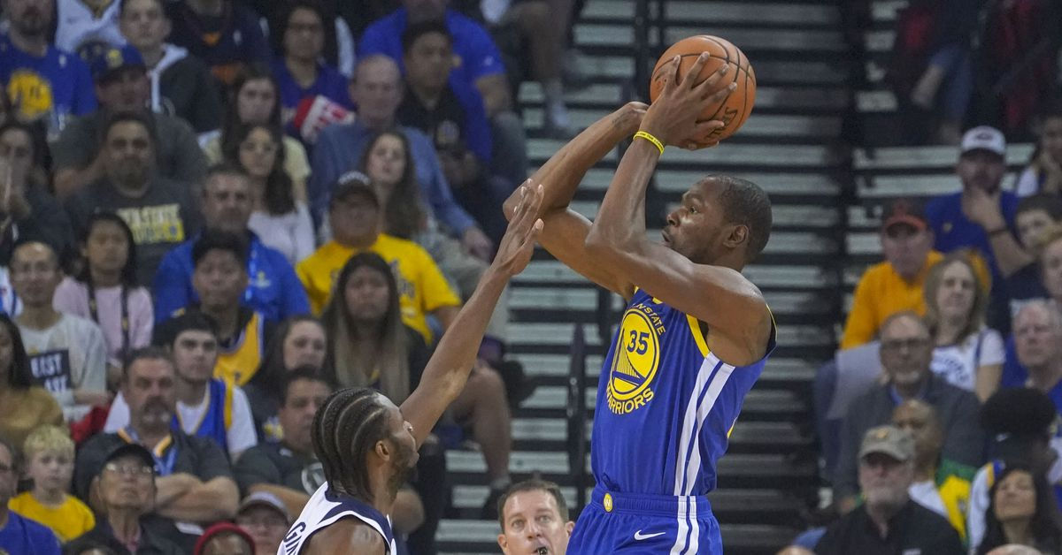 Final score: Kevin Durant scores 33, Warriors beat Wolves 116-99 - Golden State Of Mind