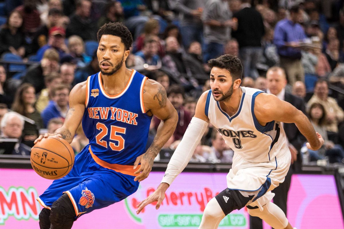 0a92bab3fef0 The Timberwolves are reportedly interested in pursuing Derrick Rose in free  agency