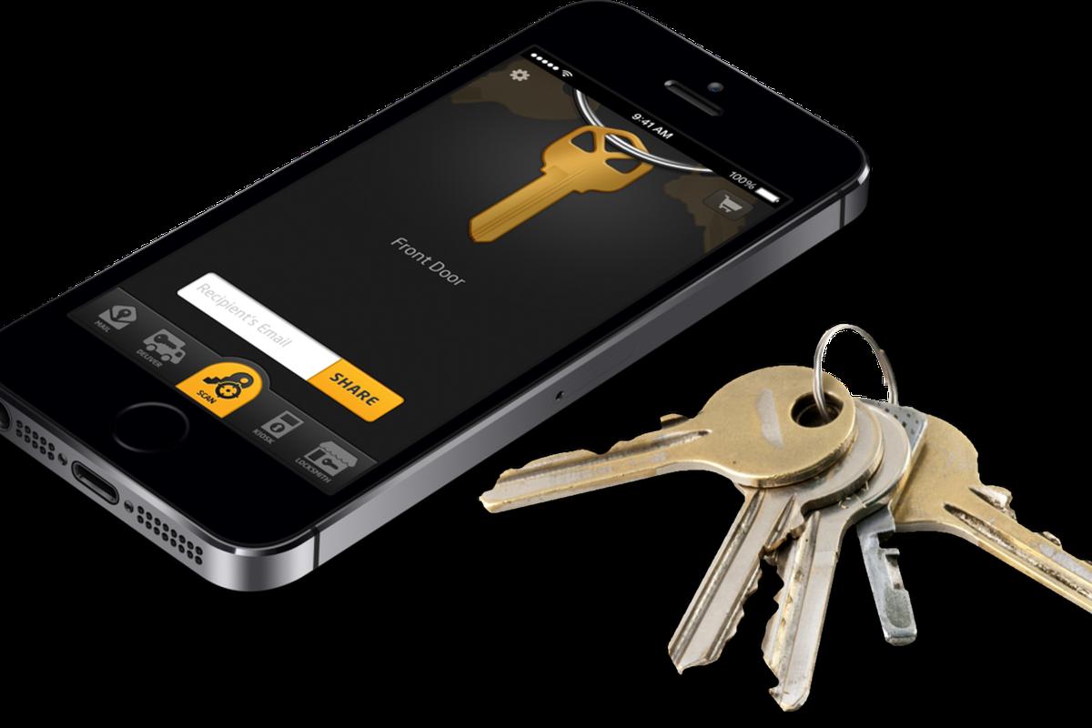 KeyMe Shapeways 3D printed house keys