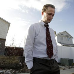 Kirk Graves, brother in law to Josh and Susan Powell,  talks about the Powell family in Salt Lake County  Sunday, Feb. 5, 2012. Josh Powell and his two sons were killed in an explosion in Washington.