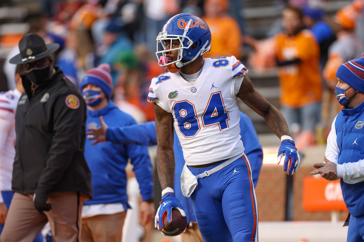 Florida Gators tight end Kyle Pitts during the first half against the Tennessee Volunteers at Neyland Stadium.