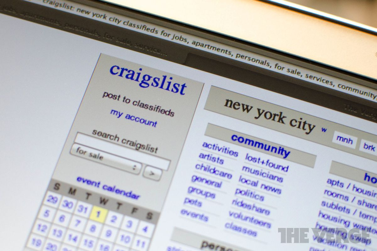 Craigslist Takes Extreme Stance On Copyright Policy Declares