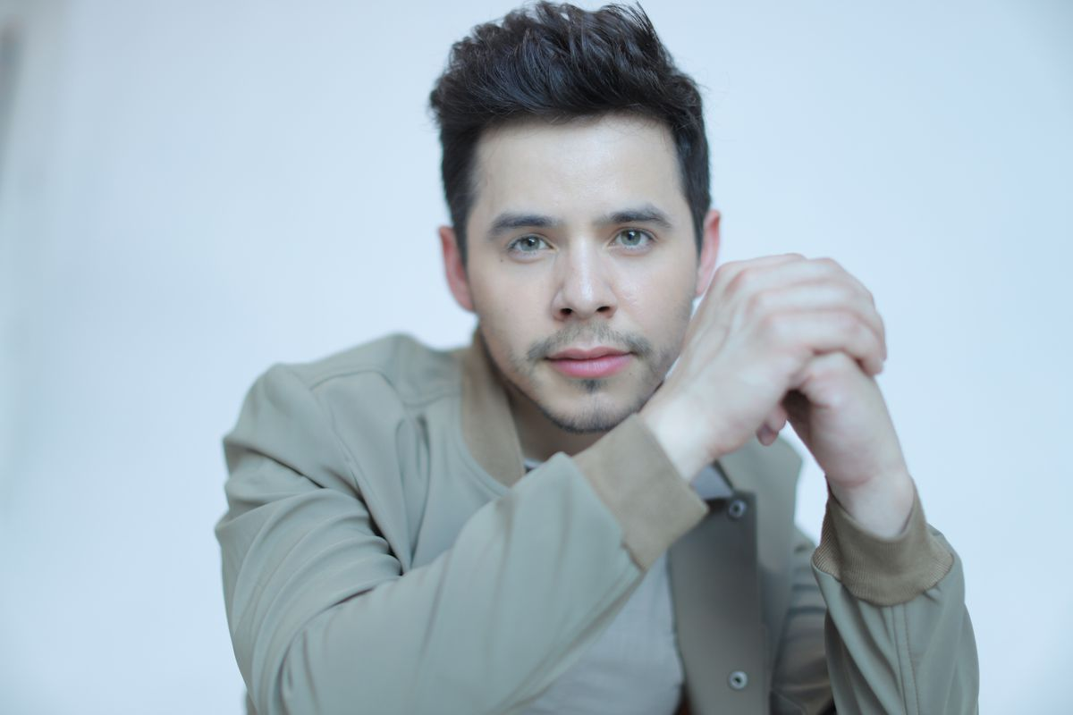 """David Archuleta's new album """"Therapy Sessions"""" comes out on Wednesday."""