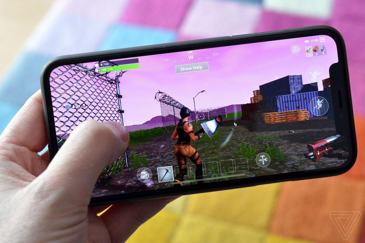 Fortnite On An Iphone X Is An Exciting Look At The Future Of Mobile