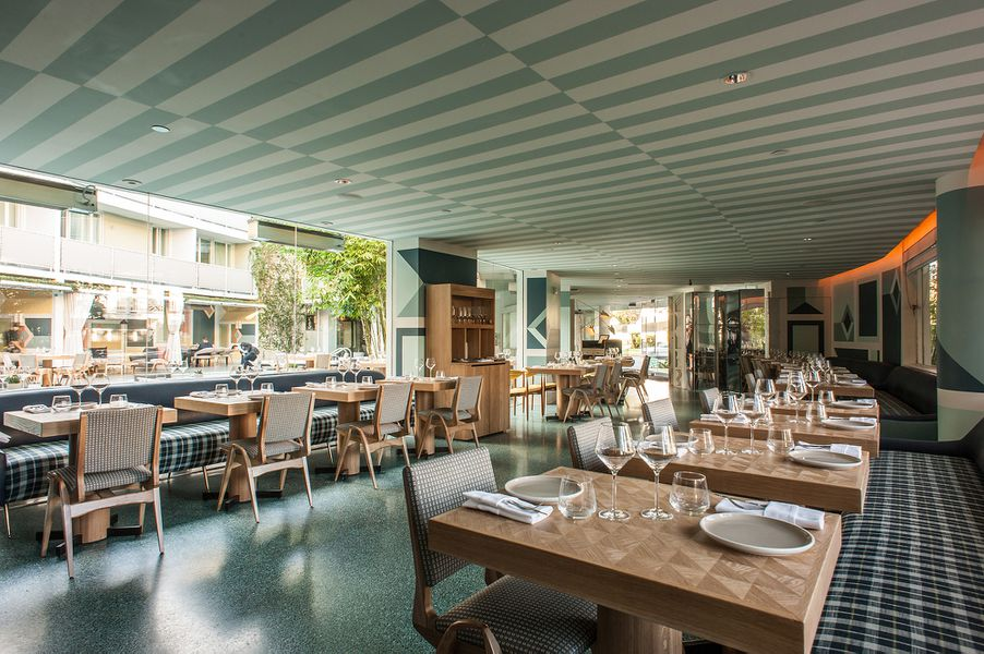 viviane is a brilliant mid century gem inside the avalon hotel in beverly hills