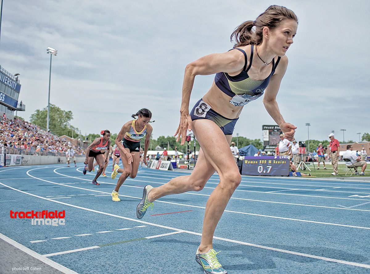 Amazing Grace: Kate Grace' s 1500m strength and patience carried her to a upset victory in the Women's 800m.