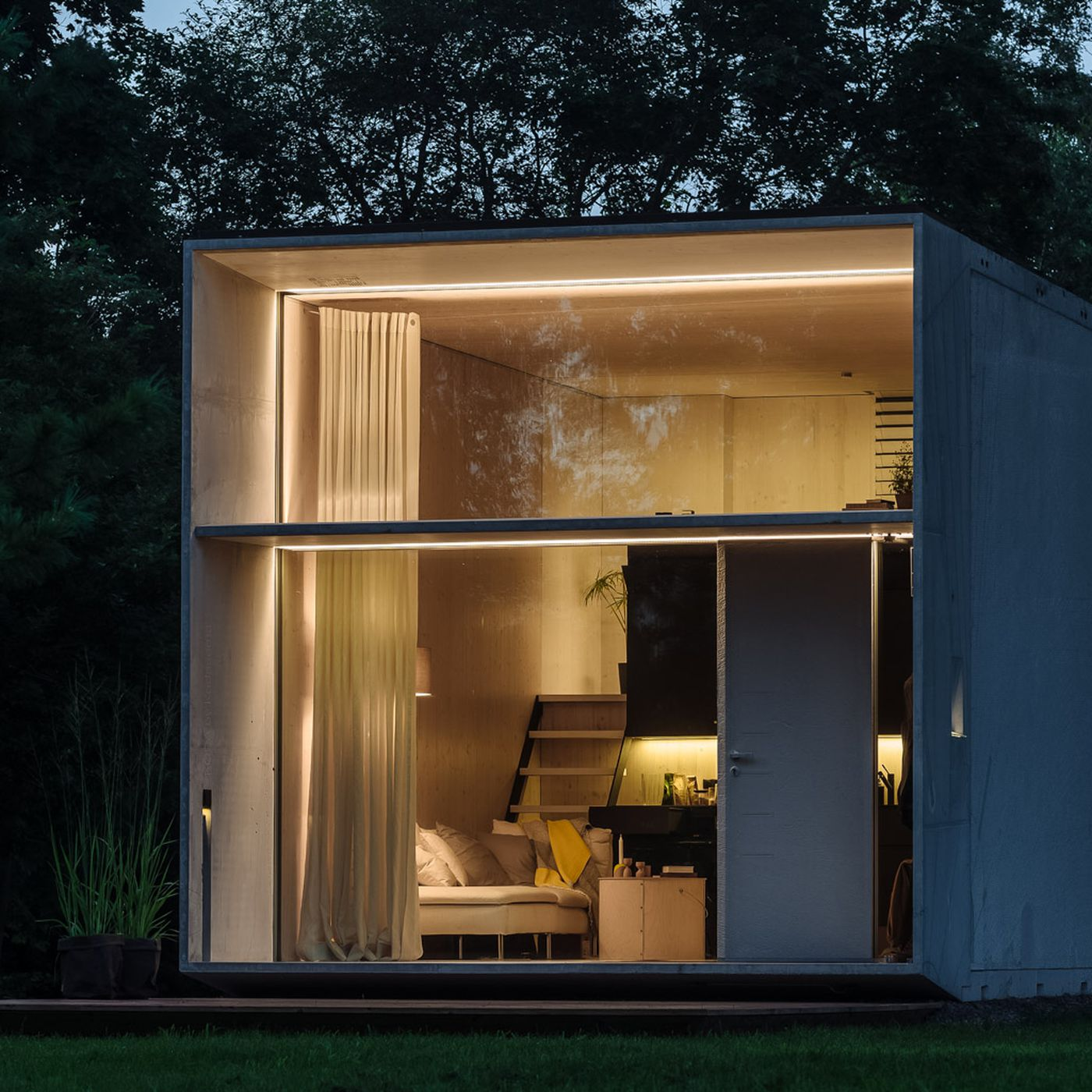 Solar Powered Prefab Tiny House Will Do It All For 125k Curbed
