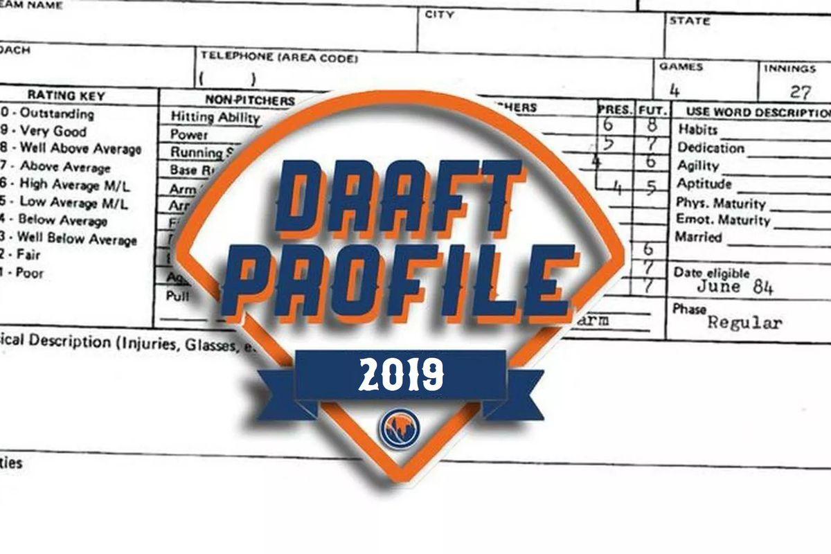 Mets 2019 draft profile: Nathan Jones
