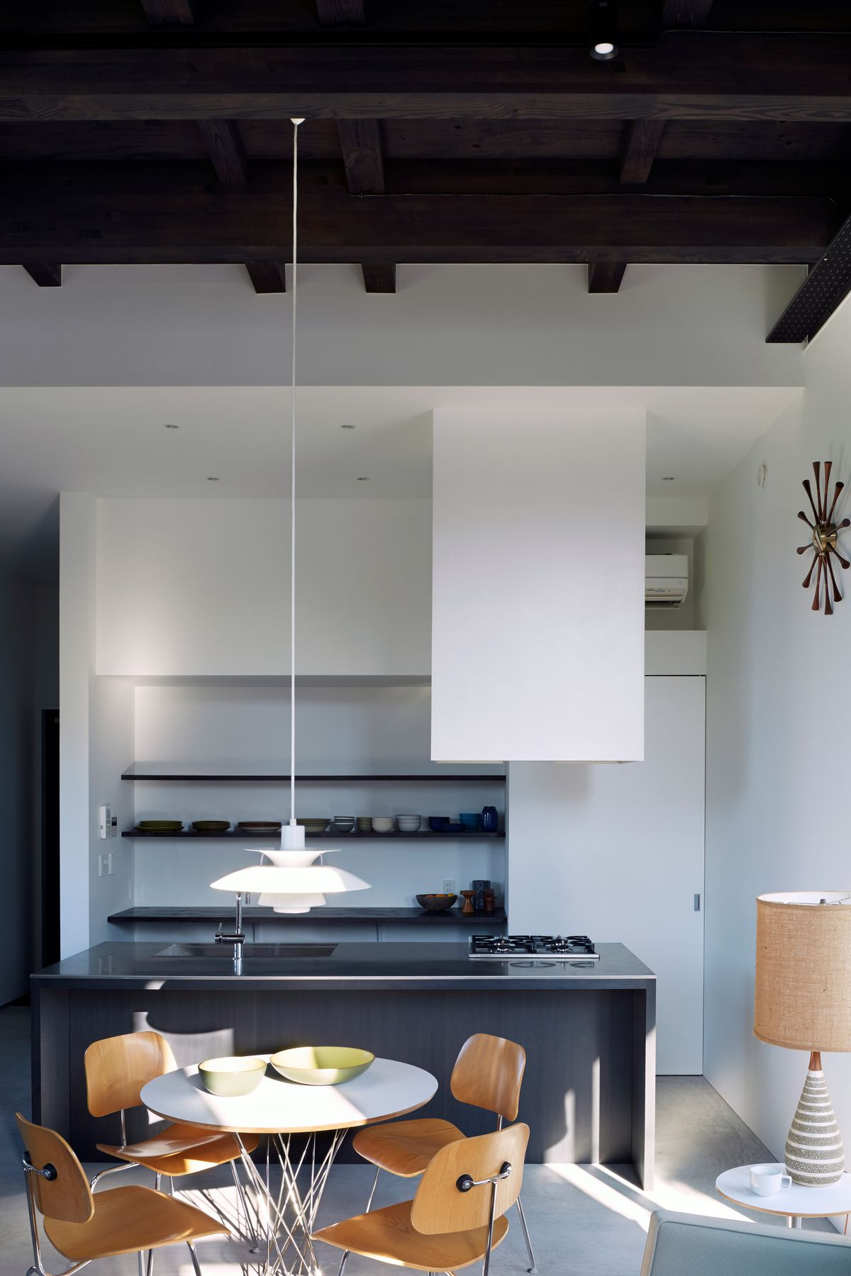 Tokyo Modern Home Is Bunker On The Outside Airy Loft On