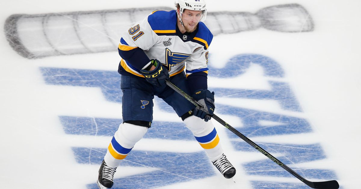 The Blues would be foolish to rush Vladimir Tarasenko back