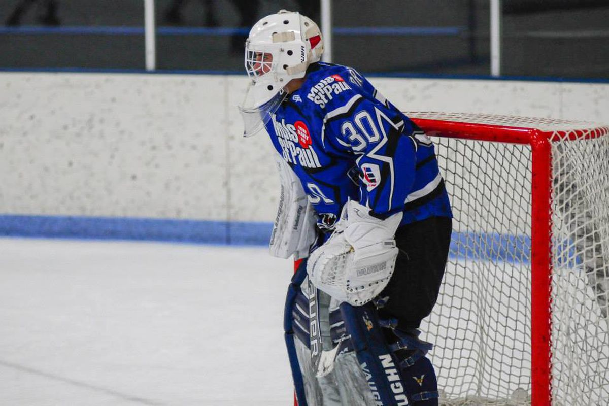 Driscoll in Elite League action this past fall.