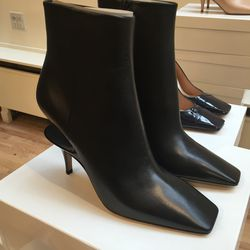 Maison Martin Margiela suspended heel boot, size 40, $408 (from $1,360)