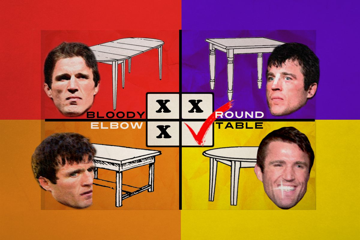 MMA Roundtable Is Anderson Silvas MMA Career Over Bloody Elbow - Anderson round table