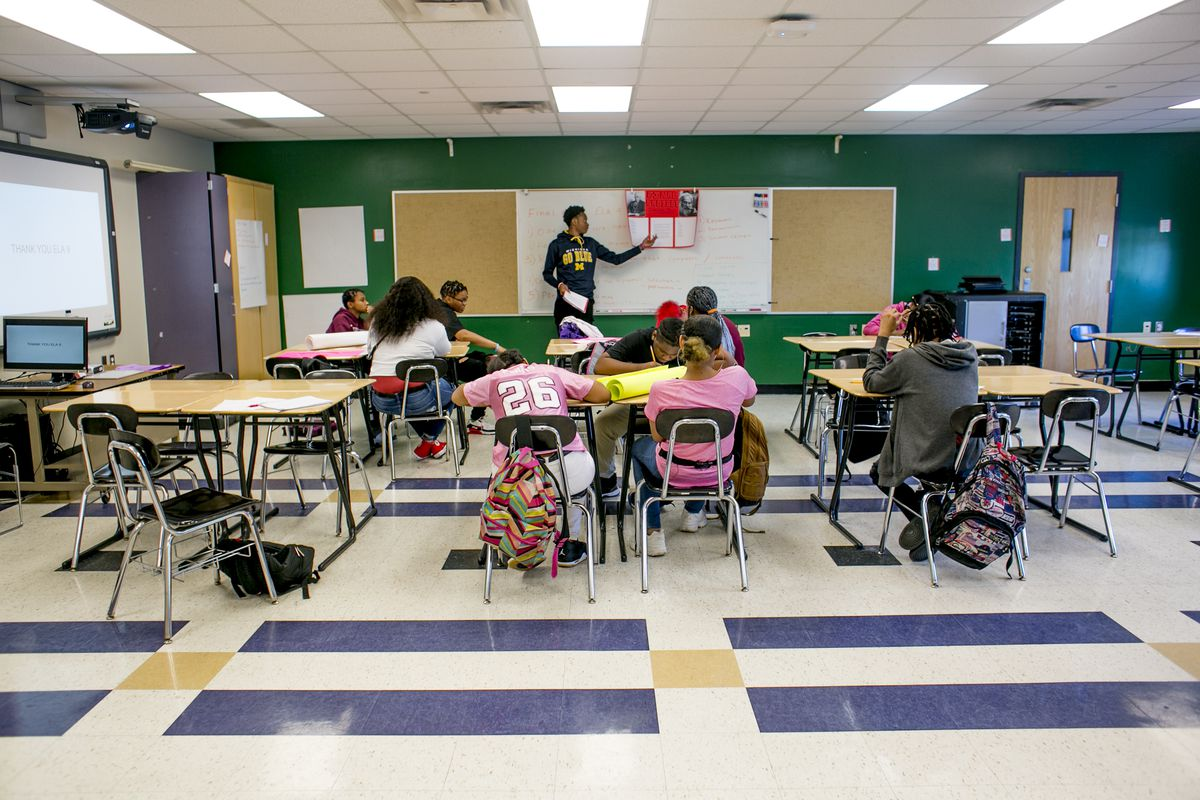 The hallways and classrooms of Detroit's Southeastern High School have been quiet in recent years as enrollment has fallen. Supporters hope new plans for the school will attract more students.