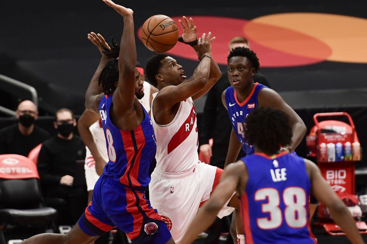 Five thoughts recap: Detroit Pistons 129, Toronto Raptors 105