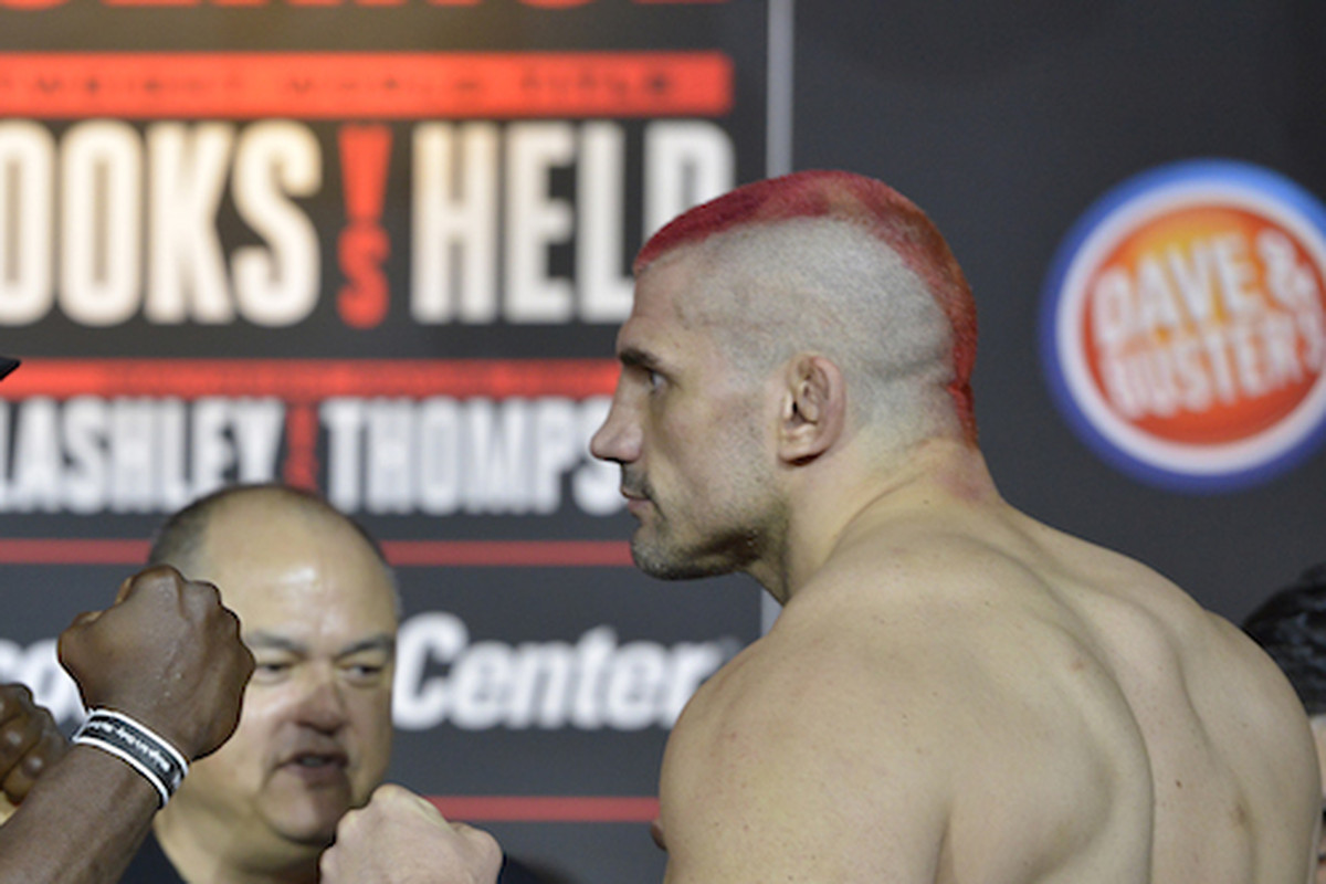 Colossal fail! Bellator 191's James Thompson tests positive for