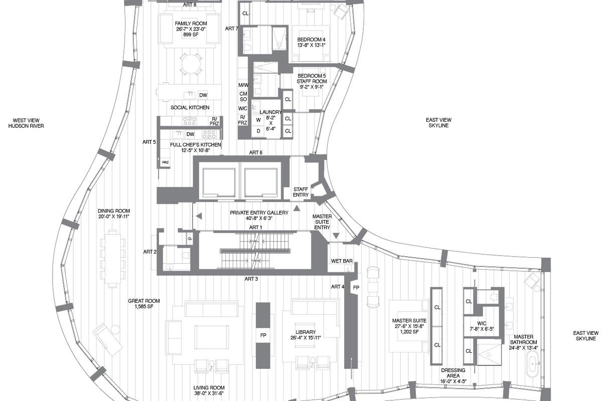 Herzog Amp De Meuron S 160 Leroy Reveals Quirky Floorplans
