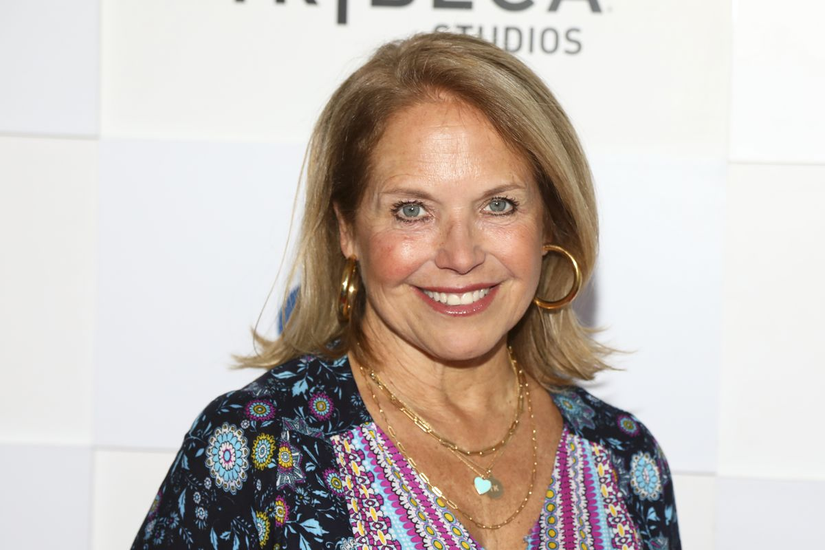 Katie Couric attends a screening during the 20th Tribeca Festival at The Waterfront Plaza at Brookfield Place, in New York in June.