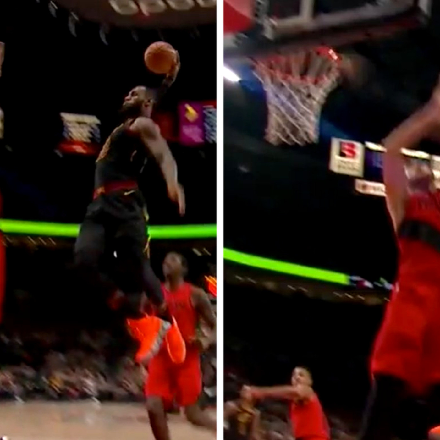 This Dunk Seriously Might Be Lebron James Best Of His Entire Career Sbnation Com