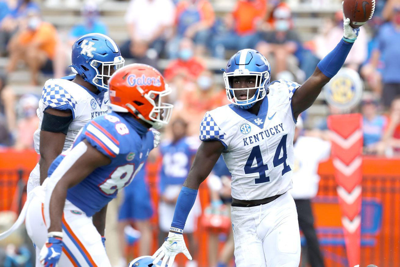 NCAA Football: Kentucky at Florida