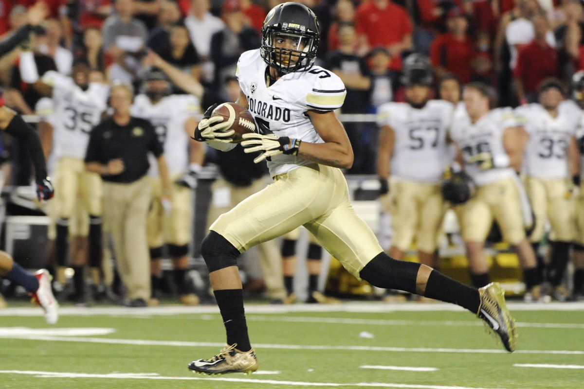 Colorado WR Shay Fields has been a big play threat for the Buffs this season.