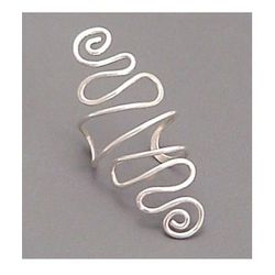 """<b>Sunny Skies Studio</b> Sterling Ear Cuff, $16.95 at <a href=""""http://www.etsy.com/listing/61700132/sterling-ear-cuff-spiral-very?ref=shop_home_active"""">Etsy</a>"""