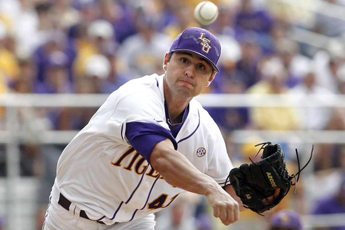 Nick Goody in college