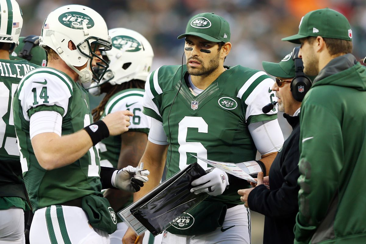 Who should start at quarterback for the Jets?