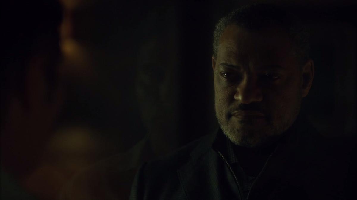 Hannibal and Jack confer.