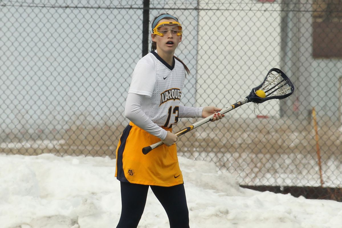 Julianna Shearer became the first Marquette women's lacrosse player to ever score five goals in a game twice.