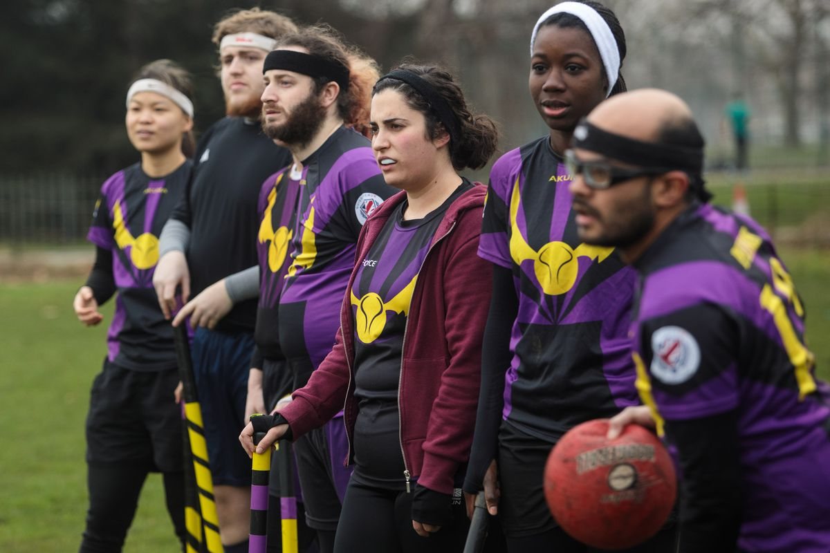 The Muggle Quidditch Crumpet Cup Is Played In London