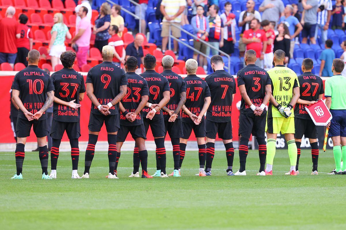 SOCCER: JUL 31 MLS - New England Revolution at New York Red Bulls