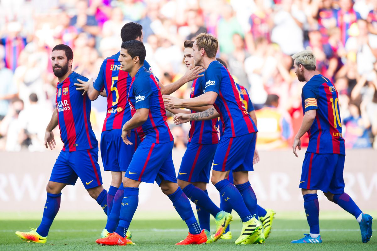 low priced 535c0 9acd8 OFFICIAL: Barcelona announce squad, kit numbers for 2016/17 ...