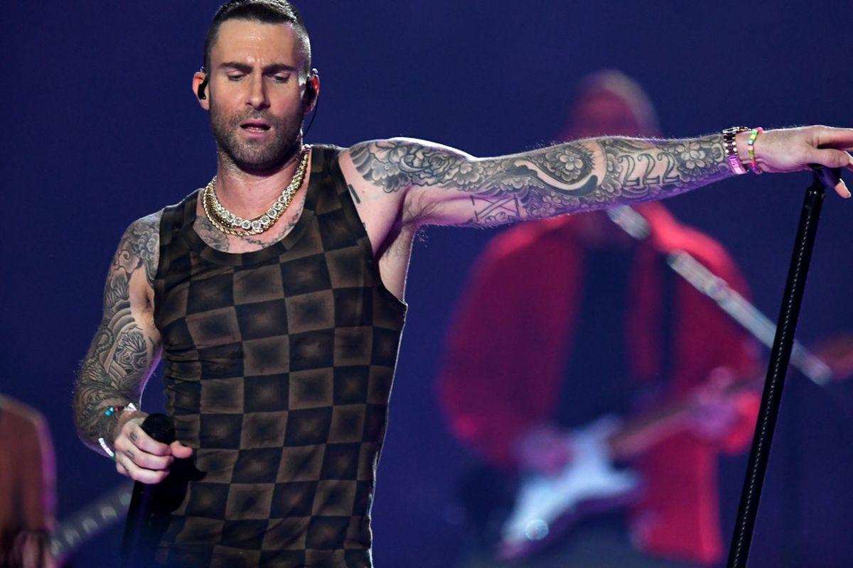 Super Bowl meme: Maroon 5 singer Adam Levine's tank top steals show